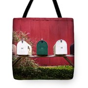 In A Row Tote Bag