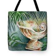 In A Tropical Garden  Tote Bag