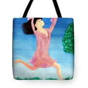 In Between Heaven And Earth Tote Bag