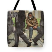 In Between The Shadows Tote Bag