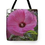 In Bloom - Pink Hibiscus Tote Bag