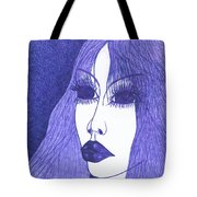 In Blue Colour Tote Bag