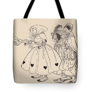 In Came The Three Women Dressed In The Tote Bag