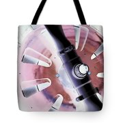 In Color Abstract 12 Tote Bag