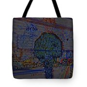 In Color Abstract 4 Tote Bag