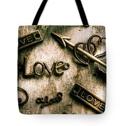 In Contrast Of Love And Light Tote Bag
