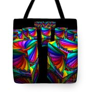 In Different Colors Thrown -3- Tote Bag