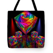 In Different Colors Thrown -8- Tote Bag