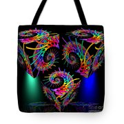 In Different Colors Thrown -9- Tote Bag by Issabild -
