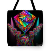 In Different Colours Thrown -6- Tote Bag