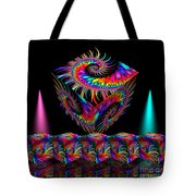 In Different Colours Thrown -7- Tote Bag