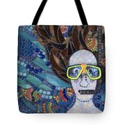 In Dreams Of Ricky Bobbie And Me In Cayman Islands Tote Bag