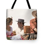 In Flamenco Dress For The Bullfight Tote Bag