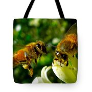In For Landing Tote Bag
