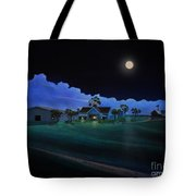In For The Night At Empire Ranch Tote Bag