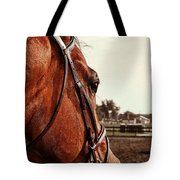 In French Chevel Tote Bag