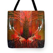 In Garden Tote Bag
