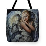 In God's Bright Shadow Tote Bag