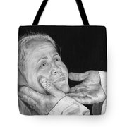 In His Hands Tote Bag by Jyvonne Inman