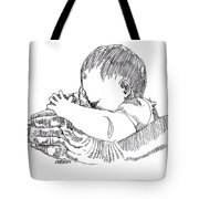 In His Hands Tote Bag
