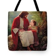 In His Light Tote Bag