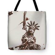 In Liberty Of New York Tote Bag