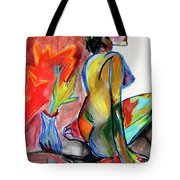 In Living Color Tote Bag