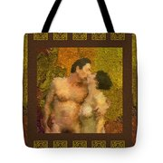 In Love Tote Bag by Kurt Van Wagner