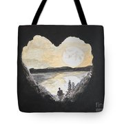 In Love With Meditation  Tote Bag
