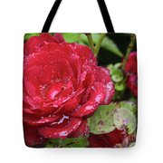 In Love With Rain Tote Bag