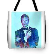 In Memory Of Roger Moore Tote Bag