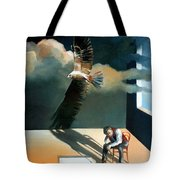 In My Own Shadow Tote Bag