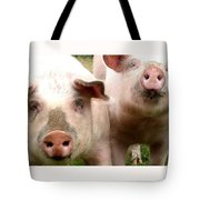 In Pig Times And Bad Times We Will Always Be Together  Tote Bag