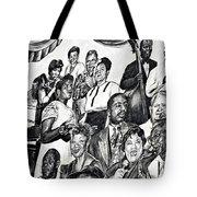 In Praise Of Jazz IIi Tote Bag