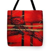 In Red Tote Bag