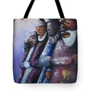 In Rows Tote Bag
