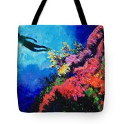 In Search Of The Creator Tote Bag