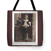 In Service To The High Lord Of The Universe Tote Bag
