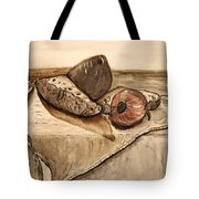 In Soundlessly Tote Bag