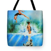 In Sync Tote Bag by Hanne Lore Koehler