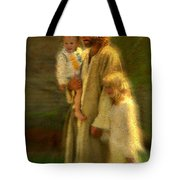 In The Arms Of His Love Tote Bag