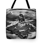 In The Beginning Bw Tote Bag