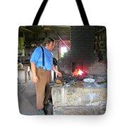 In The Blacksmith Shop Tote Bag