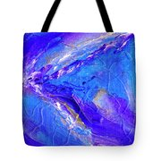 In The Blue Deep Tote Bag