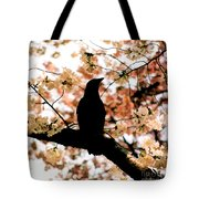 In The Cherry Tree Tote Bag
