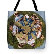 In The Circle Tote Bag