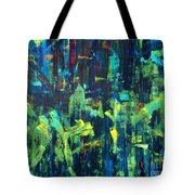 In The City Cle Tote Bag