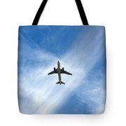 In The Cloud X Zone Tote Bag