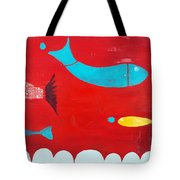 In The Clouds Part 2 Tote Bag