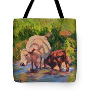 In The Creek Tote Bag